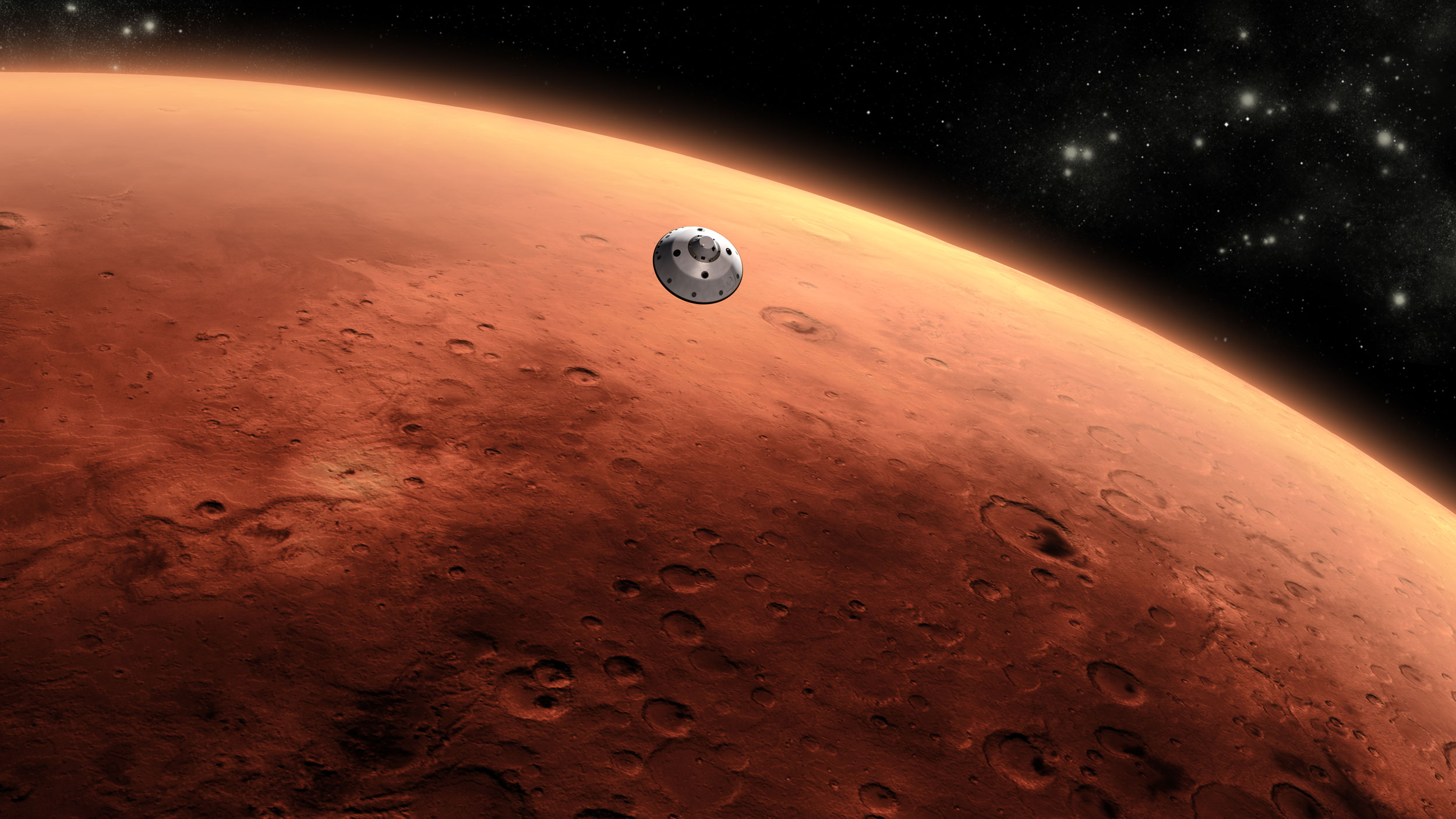High radiation levels of Mars makes astronaut entry dangerous. Credit: JPL