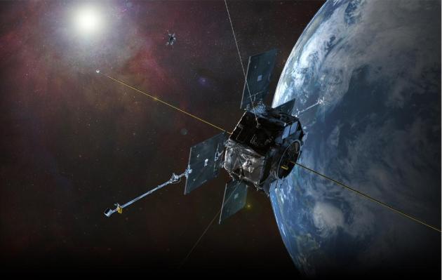 NASA's Van Allen Probes; Credit: Artist's Impression by JHU/APL