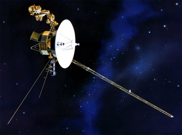 Voyager 1 has entered interstellar space. Credit: JPL-CalTech/NASA