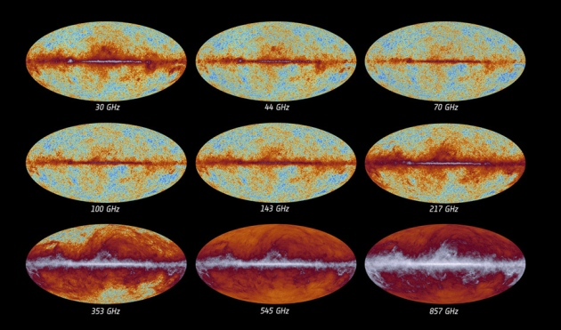Credit: ESA and the Planck Collaboration